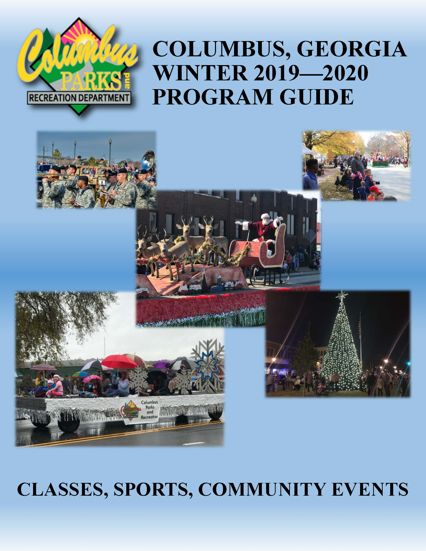Recreation Centers Winter 2019-2020 Program Guide