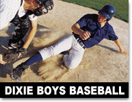 boys dixie baseball